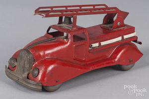 Kelo pressed steel fire ladder truck