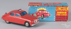 Lincoln International battery operated car