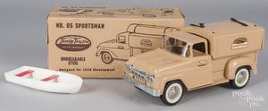 Tonka no. 05 pressed steel Sportsman truck