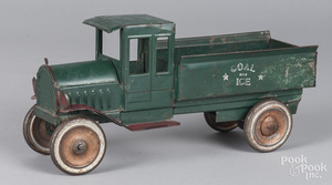 Dayton pressed steel Coal and Ice delivery truck