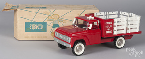 Structo Farms pressed steel stake truck