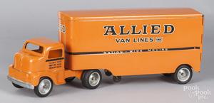 Tonka Allied Van Lines semi-tractor trailer truck