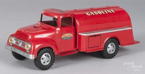 Tonka pressed steel Gasoline truck