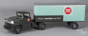 Marx Sears semi-tractor trailer truck