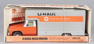 Nylint pressed steel U-Haul delivery van