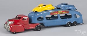 Marx pressed steel Deluxe Auto Transport