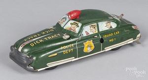 Marx tin litho wind-up Dick Tracy Squad Car