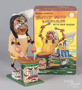 Marx battery operated Nutty Mad Indian