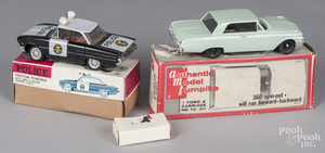 AMT plastic Ford Galaxy 500 steerable car