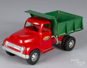 Tonka pressed steel dump truck