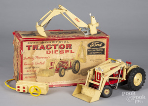 Ford 4040 Industrial Diesel battery operated tractor