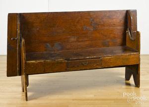 Pennsylvania pine bench table