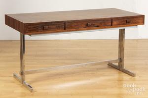 George Petersons Danish Modern rosewood desk