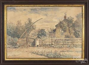 William Livingstone Anderson, watercolor landscape