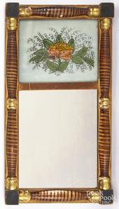 Sheraton painted mirror