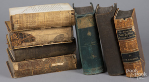 Seven volumes related to the Civil War.