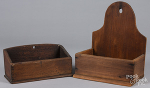 Two hanging wall boxes