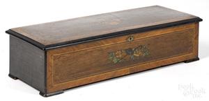 Gautschi & Sons cylinder music box