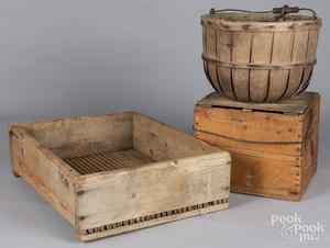 Three primitive items