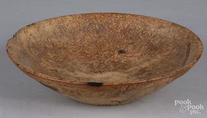 New England burlwood bowl