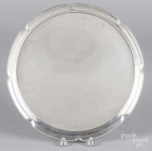 Randahl sterling silver serving tray