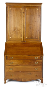 New England Federal cherry secretary desk