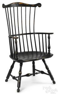 Philadelphia fanback Windsor armchair
