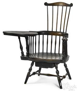 Pennsylvania writing arm Windsor chair
