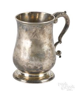 Boston, Massachusetts silver mug