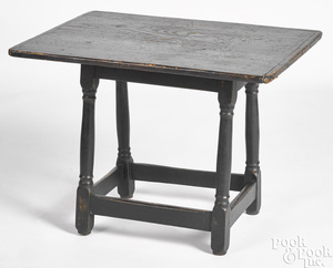 Diminutive Connecticut painted pine tavern table