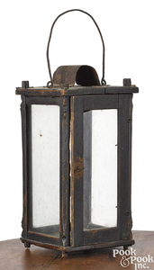 Painted carry lantern