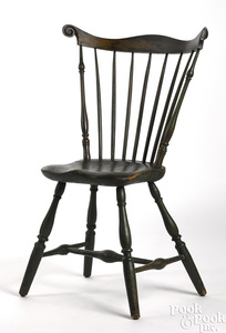 Pennsylvania combback Windsor side chair