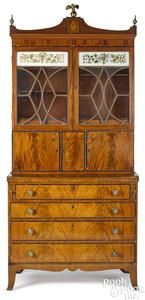 Massachusetts Federal mahogany secretary desk