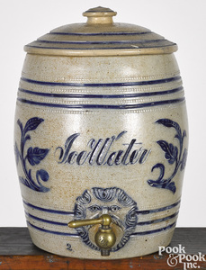 New Jersey stoneware cooler