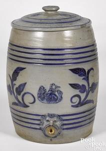 New Jersey stoneware six-gallon cooler