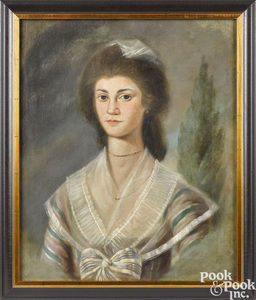 Samuel Jennings, pair of portraits