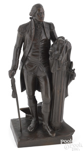 Gorham patinated bronze of George Washington