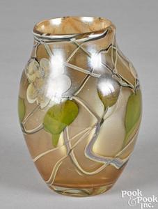 Tiffany paperweight vase