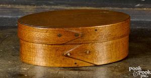 Massachusetts miniature bentwood pantry box