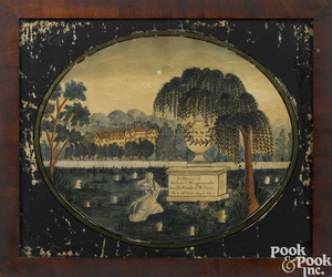 New Jersey watercolor memorial