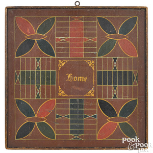 Painted pine double sided gameboard