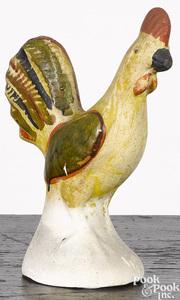 Pennsylvania chalkware rooster