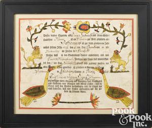Arnold Hoevelmann birth certificate