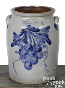 Cowden & Wilcox, two-gallon stoneware crock