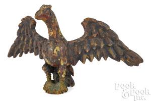 Wilhelm Schimmel pine spread-winged eagle
