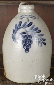 Cowden & Wilcox stoneware jug