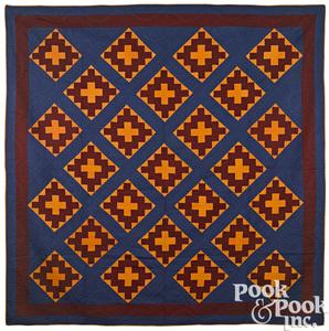 Pennsylvania patchwork Christian cross quilt