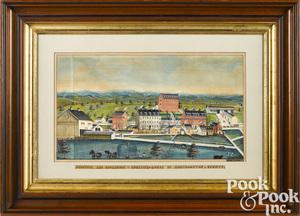 Charles Hoffman watercolor landscape