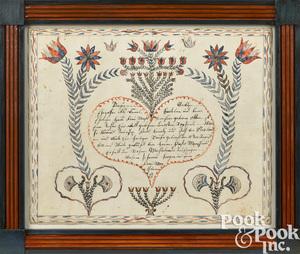 Bucks County, Pennsylvania birth certificate