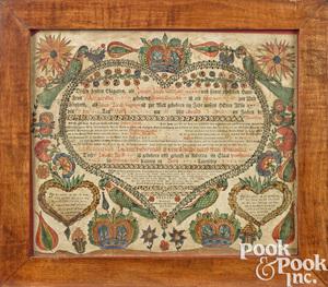Attributed to Heinrich Otto birth certificate